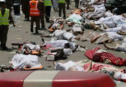 麥加朝覲者踩踏意外 至少717人死亡