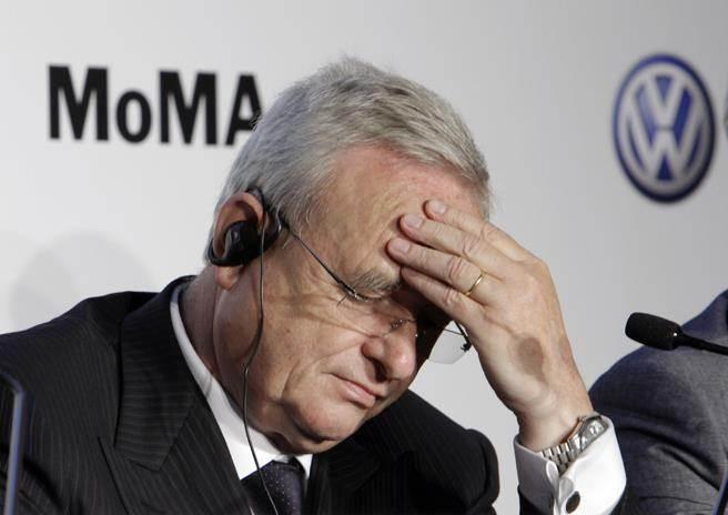由於排廢造假風波擴大,德國福斯汽車(VW)執行長Martin Winterkorn周三宣布請辭。(圖/美聯社)