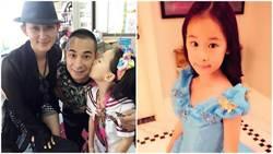 趙文卓8歲女兒長大了 公主模樣超可愛
