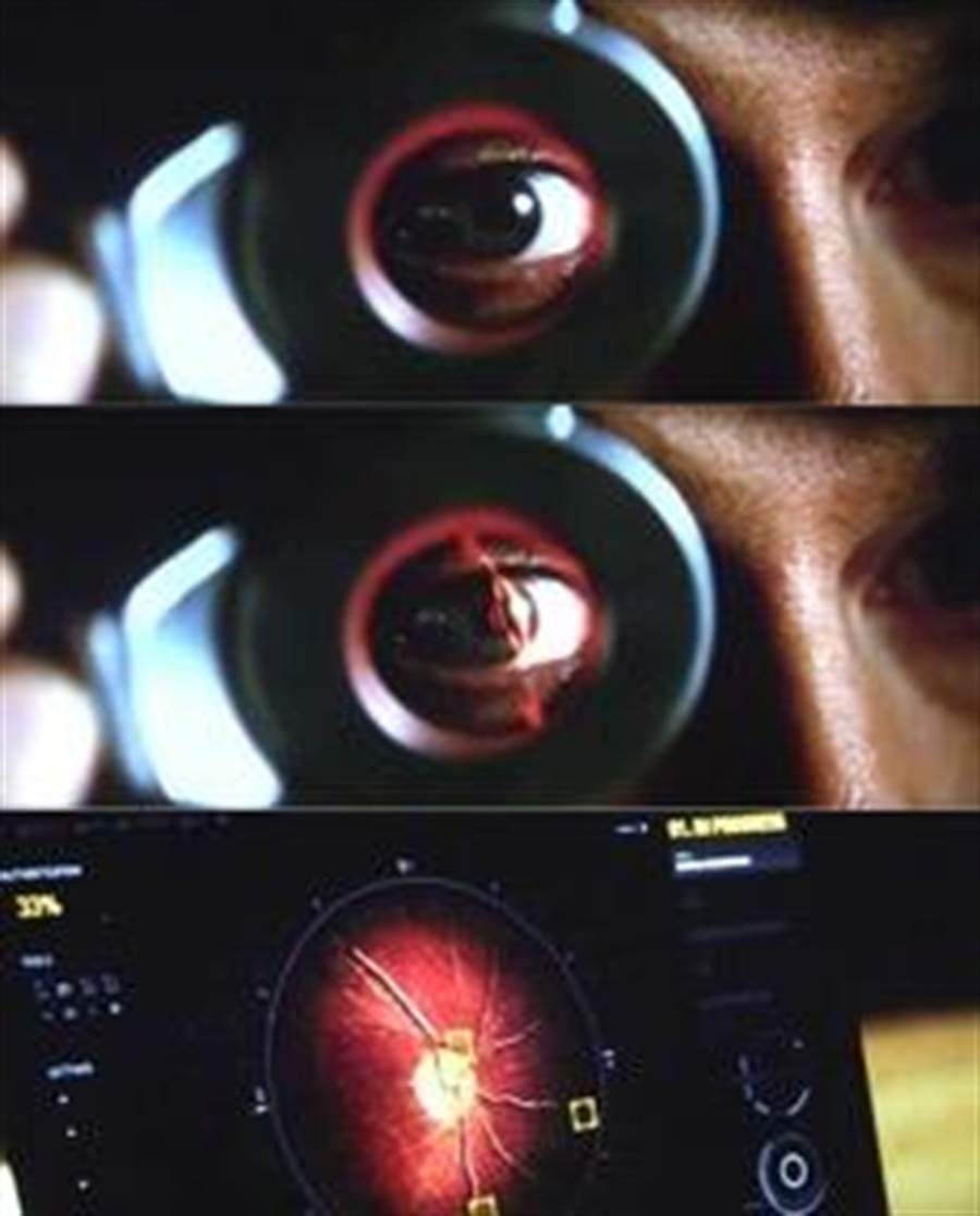 「不可能的任務5」當中的視網膜辨識技術。(圖/ifanr)