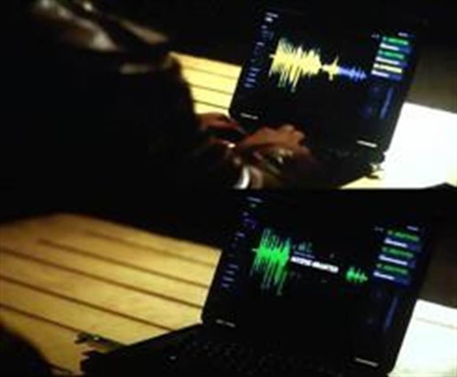 「不可能的任務5」當中的語音辨識技術。(圖/ifanr)
