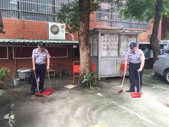 颱風遠離 警動員清掃防止病媒蚊