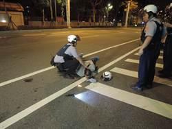 新北警匪持槍對峙 歹徒雙腿中彈
