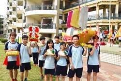東港高中小迎王祭 祈升學順利