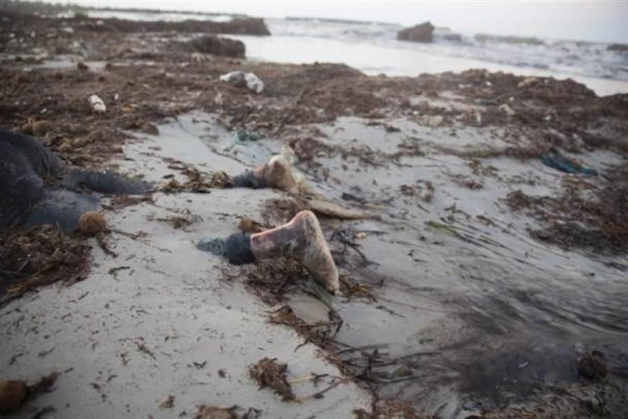利比亞沿岸發現偷渡者屍體。(美聯社)