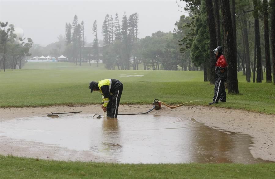 仰德TPC錦標賽因昨下雨賽程被迫縮減為3回合,為賽史6年來第3次。(仰德集團提供)