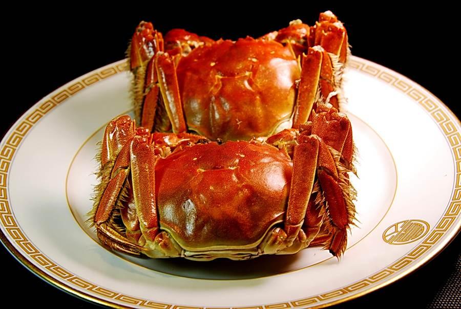 江浙餐廳與滬杭館子作蟹粉,並用當令肥美大閘蟹拆出。(圖/姚舜攝)