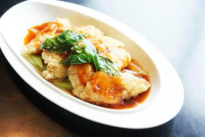 高雄國賓大飯店的九重三味魚。(業者提供)