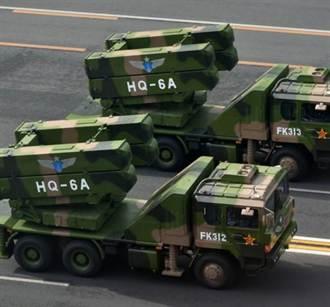 解放軍在港部署紅旗6導彈