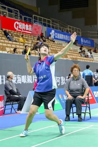 羽球大獎賽 程琪雅宋碩芸晉級女單8強