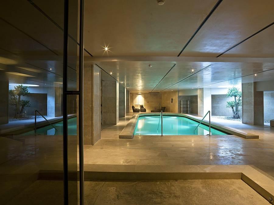 「羅馬大飯店」的「Wellness&Spa水療浴中心」占地2500平方公尺,也是羅馬當地最新、規模最大的SPA休閒中心。(圖/雲朗觀光)