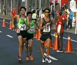 全運會男子20公里競走賽張洧綝破全國