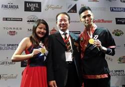 世界盃調酒大賽 台灣奪雙冠及超級團隊教練獎