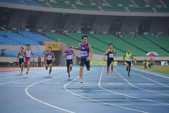 男200公尺預賽楊俊瀚飆破全國紀錄