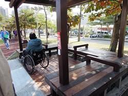 無障礙設施高標準 公園、車站、遊樂區坡太陡開罰