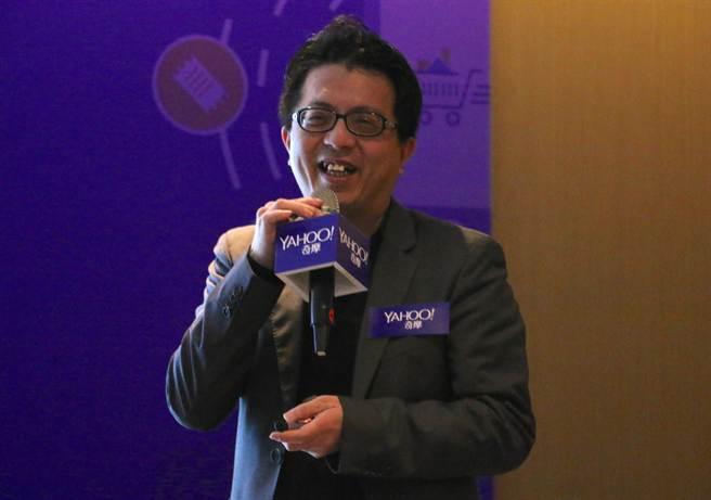 Yahoo台灣暨香港電子商務事業群副總裁王志仁。(黃慧雯攝)