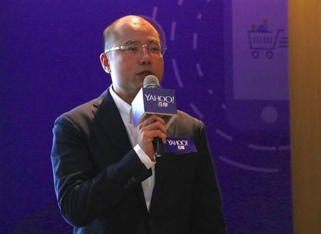 Yahoo亞太區消費者研究暨數據分析資深經理蘇建勳。(黃慧雯攝)