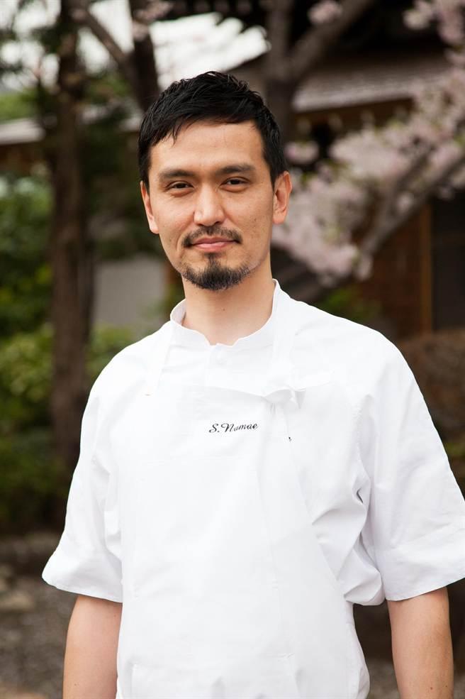日本米其林2星名廚生江史伸(NamaeShinobu),將於12月日到台中〈樂沐〉法式餐廳獻藝。(圖/台中樂沐法式餐廳)