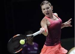 哈麗普開紅盤 率先奪WTA年終賽第1勝