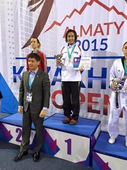 黃韻文哈薩克跆拳賽奪金 可望拿奧運門票