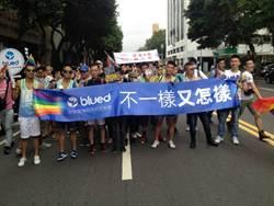 台北同志遊行 大陸同志跨海捧場