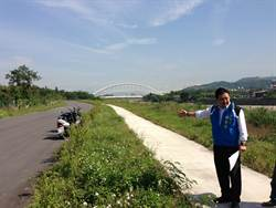 三角湧大橋將通 議員盼打通河堤道路解車潮