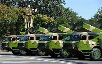 中國短程彈道導彈遽增 東風10超400枚