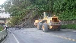蘇花公路141.4K坍方中斷 預計晚間7點搶通