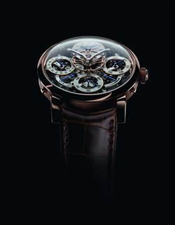 MB&F 與愛爾蘭獨立製錶師 Stephen McDonnell 攜手合作顛覆萬年曆