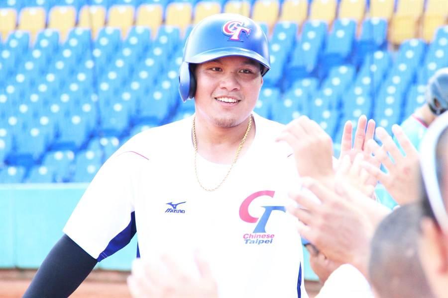 旅美捕手張進德今天升上小聯盟3A。(資料照/中職提供)