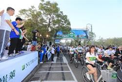 紐崔萊心騎日! 林佳龍盼打造台中為自行車城市