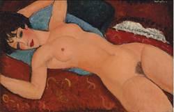 莫迪里安尼裸女畫 創下史上第2高拍賣價