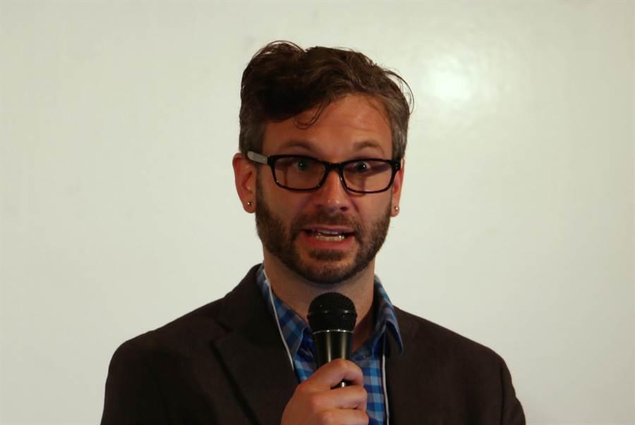 在Google擔任人工智能、計算神經科學、及可量化機器學習研究員的Greg Corrado 博士。(圖/黃慧雯攝)