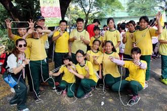 1233位小童軍打繩結 樂在其中