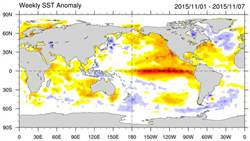 NOAA:今冬聖嬰最強 明春減弱