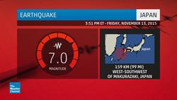 日規模7強震 局部海嘯警報