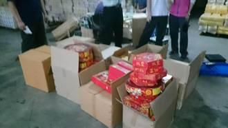 香鋪店囤積爆竹 數量多達112公斤