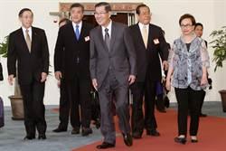 代表台灣出席  蕭萬長今啟程赴菲參加APEC