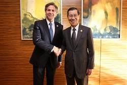 蕭萬長會美副國務卿 表達我國入TPP決心