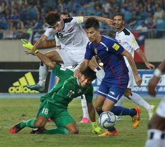 世足資格賽 中華主場2球負伊拉克