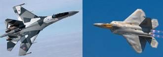 陸購蘇-35 對付美F-22