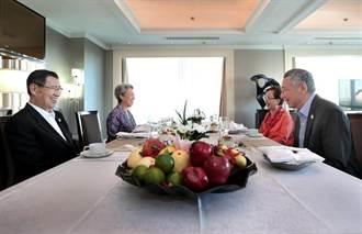 台星非正式雙邊會 蕭萬長李顯龍共進早餐