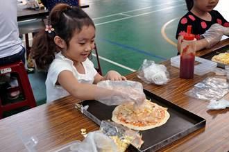 親子共學列車到燕巢 手作窯烤披薩真美味