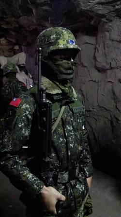 馬祖256條戰備坑道 機甲戰隊警戒