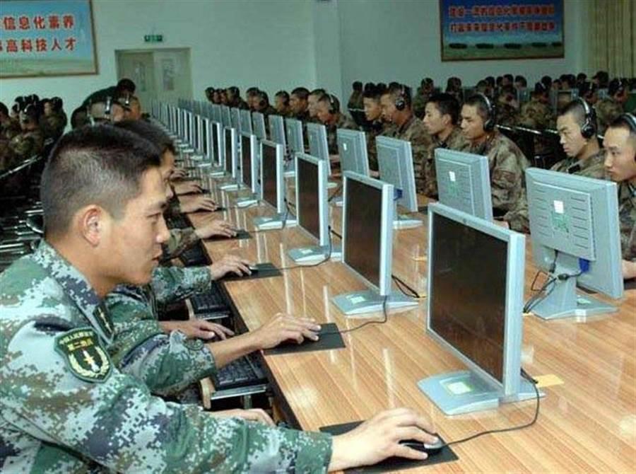 中共近年來越來越著重於網路作戰。(網路照片)