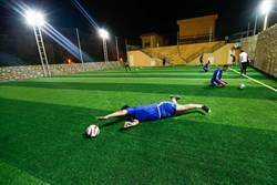 圖輯:開羅盲人踢足球