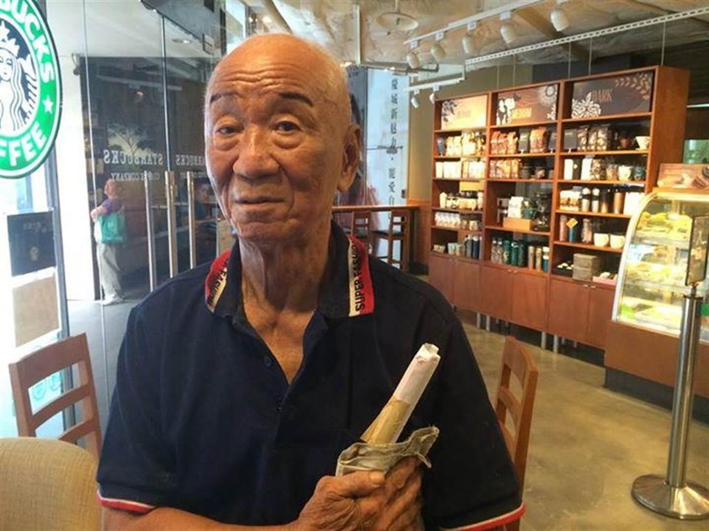 去年參選台北市長的趙衍慶先生接受採訪。(許劍虹)