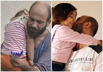 敍難民抱稚女賣筆獲網友捐款 3個月開3店