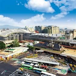 台中火車站前廣6用地 變更道路用地