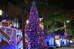 六福聖誕大道 打造南京東路最美麗的街景